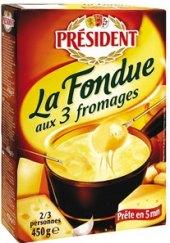 Sýr La Fondue Président