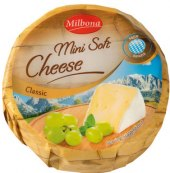 Sýr mini soft cheese Milbona