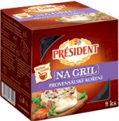 Sýr na gril + koření Président
