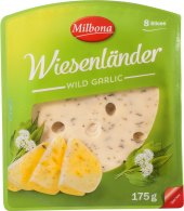 Sýr plnotučný s medvědím česnekem Wiesenländer Milbona