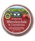 Sýr s brusinkami Wensleydale