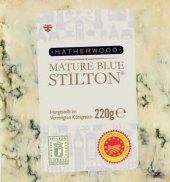 Sýr s modrou plísní Mature Blue Stilton Hatherwood