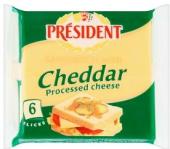 Sýr tavený plátky Président