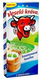 Sýr tavený smetanová loučka Veselá kráva