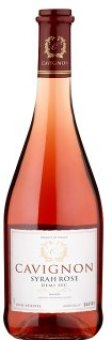 Víno Syrah Rosé Cavignon