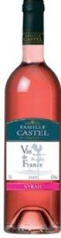 Víno Syrah Rosé Famille Castel