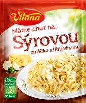 Omáčka sýrová s těstovinami Vitana