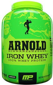 Syrovátka Arnold Schwarzenegger Iron Whey MusclePharm