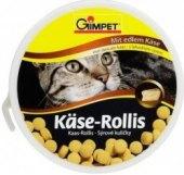 Pamlsky pro kočky sýrové kuličky Gimpet
