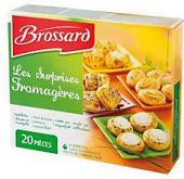 Sýrový snack mražený Brossard