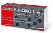 Tablety aktivní uhlí Carbo Medicinalis Sanova