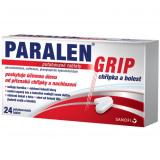 Tablety chřipka a bolest Grip Paralen