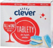 Tablety do myčky All in 1 Clever