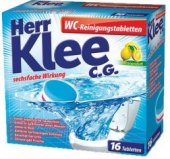 Tablety do WC na odstranění vodního kamene Klee