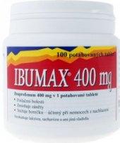Tablety proti horečce a bolesti Ibumax