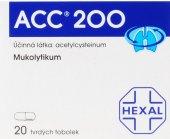 Tablety k léčbě dýchacích cest ACC 200