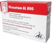 Tablety k léčbě zhoršených funkcí mozku Piracetam AL