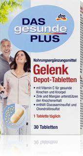 Doplněk stravy na klouby Das gesunde Plus