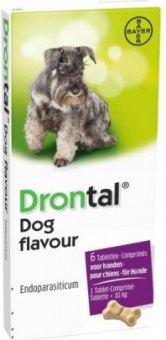 Tablety na odčervení psů Drontal Dog Flavour Bayer