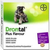 Tablety na odčervení psů Drontal Plus Flavour Bayer