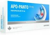 Tablety na pálení žáhy Apo-Panto