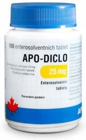 Tablety na pohybový systém Apo-Diclo