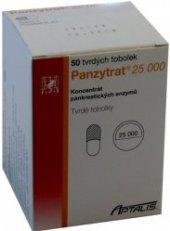 Tablety na trávení Panzytrat