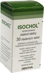 Tablety na žlučník Isochol