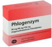 Tablety Phlogenzym Mucos