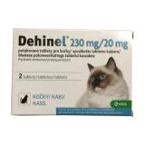 Tablety pro kočky na odčervení Dehinel