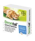 Tablety pro kočky na odčervení flavour Drontal