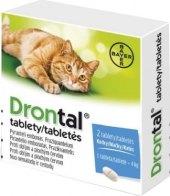 Tablety pro kočky na odčervení Plus flavour Drontal