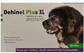 Tablety pro psy na odčervení Dehinel Plus XL