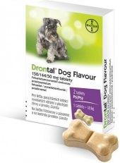 Tablety pro psy na odčervení flavour Drontal