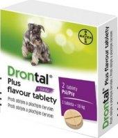 Tablety pro psy na odčervení Plus flavour Drontal