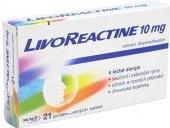 Tablety proti alergii Livoreactine