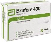 Tablety proti bolesti 400 Brufen