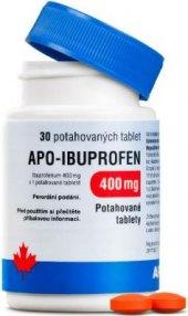 Tablety proti bolesti 400 mg Apo-Ibuprofen Apotex