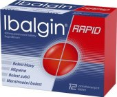 Tablety proti bolesti Rapid Ibalgin