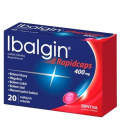 Tablety proti bolesti Rapidcaps Ibalgin Zentiva