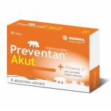 Tablety proti chřipce a nachlazení Akut Preventan