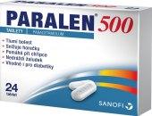 Tablety proti horečce a bolesti 500 Paralen