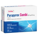 Tablety proti horečce a bolesti Parapyrex Combi Dr.Max