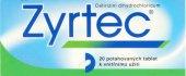 Tablety proti alergii Zyrtec Ucb Pharma
