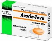 Tablety proti otokům a zánětům Aescin Teva