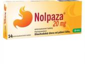 Tablety proti pálení žáhy Nolpaza