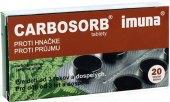 Tablety proti průjmu Carbosorb Imuna