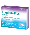 Žvýkací tablety proti průjmu Imodium Plus