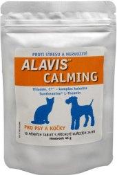 Tablety proti stresu pro psy a kočky Calming Alavis