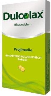 Tablety proti zácpě Dulcolax